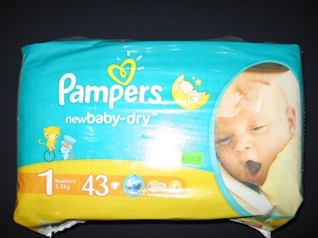 Pampers  Nr.1   43 gab.
