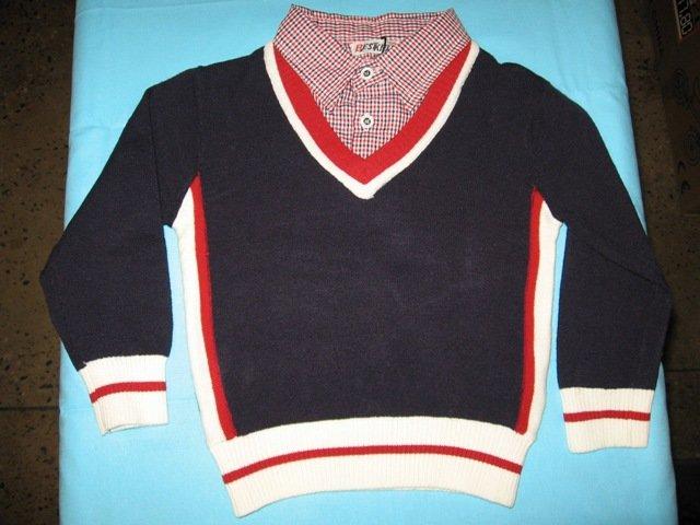 Džemperis ar kreklu
