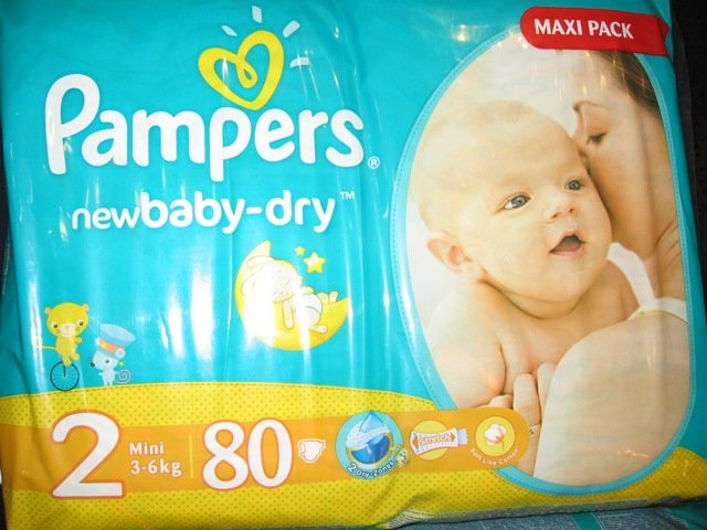 Pampers  Nr.2   80 gab.