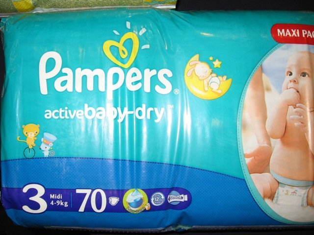 Pampers Nr.3    70 gab.
