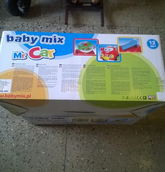 """Mašina """" Baby mix"""" Mr.Car"""